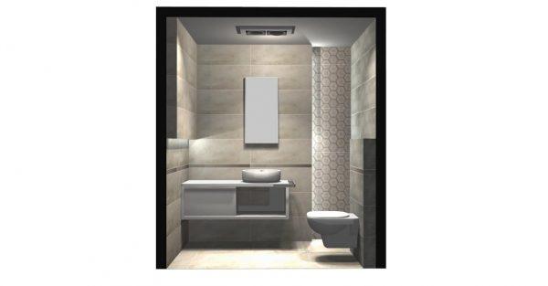 Zdjęcie Mozaika ścienna Tubądzin Solei grey 28,9×22,1 MS-01-169-0289-0221-1-023 (p)