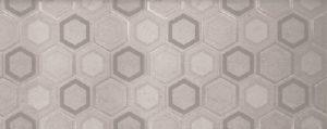 Dekoracja ścienna Tubądzin Tecido grey 29,8x74,8 DS-01-168-0298-0748-1-007 (p)
