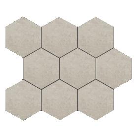 Mozaika ścienna Tubądzin Tecido grey 28,9x22,1 MS-01-168-0289-0221-1-008 (p)
