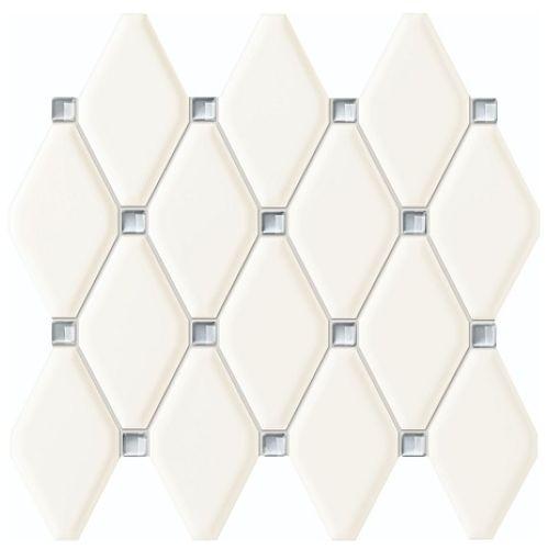 Mozaika ścienna Tubądzin Abisso White 27x29,8cm