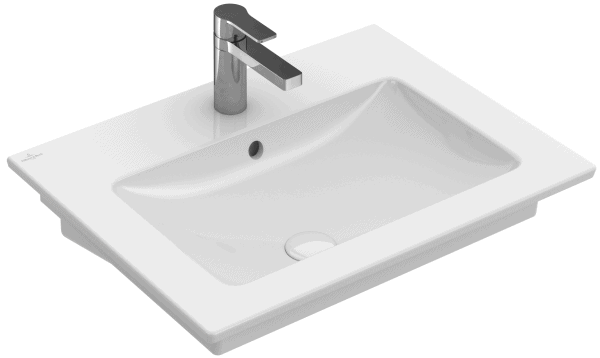 Umywalka ścienna prostokątna Villeroy&Boch Venticello 60x50cm bez otworu 41246201