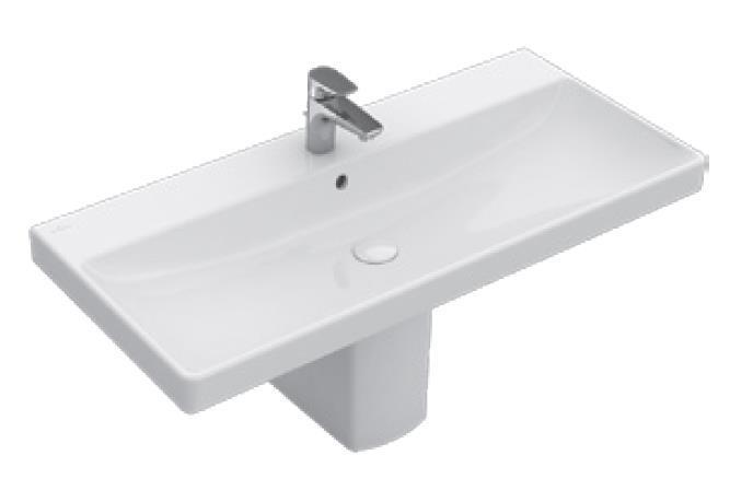 Umywalka meblowa Villeroy&Boch Avento z otworem przelewowym 80cm 41568001