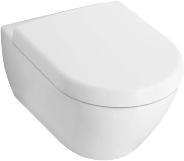 Zdjęcie Miska WC wisząca + deska wolnoopadająca Villeroy Boch Subway 2.0 56001001+9M68S101 + uszczelka wygłuszająca GRATIS
