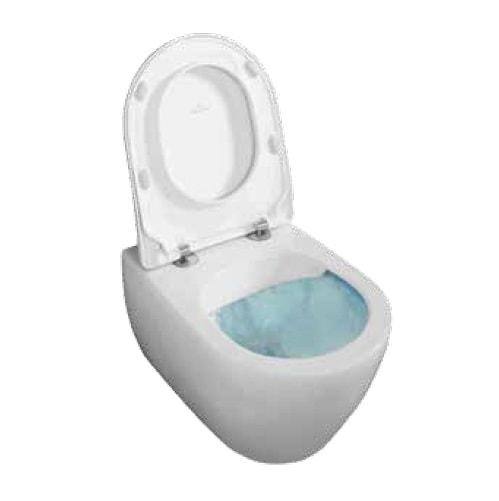 Miska wisząca WC + deska wolnoopadająca Slim Villeroy Boch Subway 2.0 DirectFlush 5614R001+9M78S101 + uszczelka wygłuszająca GRATIS