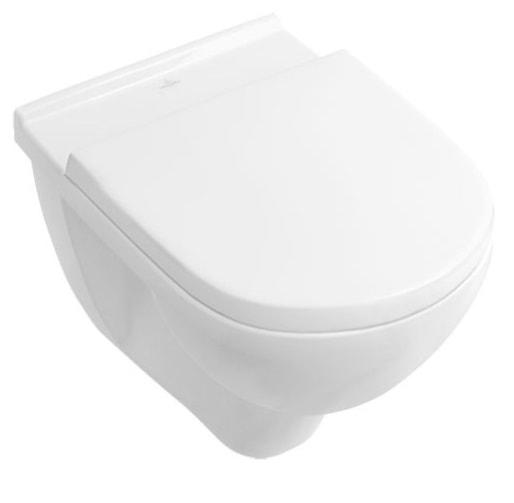 Miska WC wisząca Villeroy&Boch O.Novo + deska wolnoopadająca 5660H101