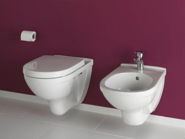 Zdjęcie Miska WC wisząca Villeroy&Boch O.Novo + deska wolnoopadająca 5660H101