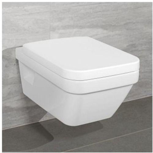 Zdjęcie Miska WC wisząca Villeroy Boch Architectura Combi-Pack directflush + deska wolnoopadająca 5685HR01 + Uszczelka wygłuszająca GRATIS