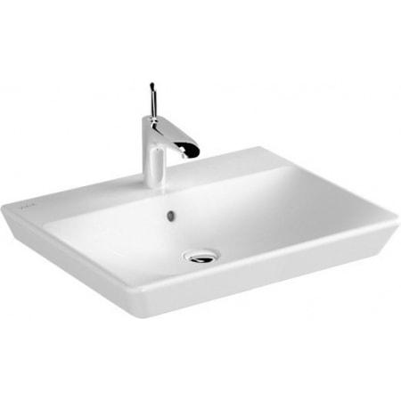 Umywalka nablatowa Vitra T4 70x47x14 cm biała 4452B003-0973