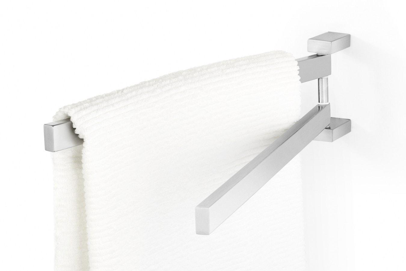 Reling łazienkowy podwójny ZACK LINEA 44cm 40380