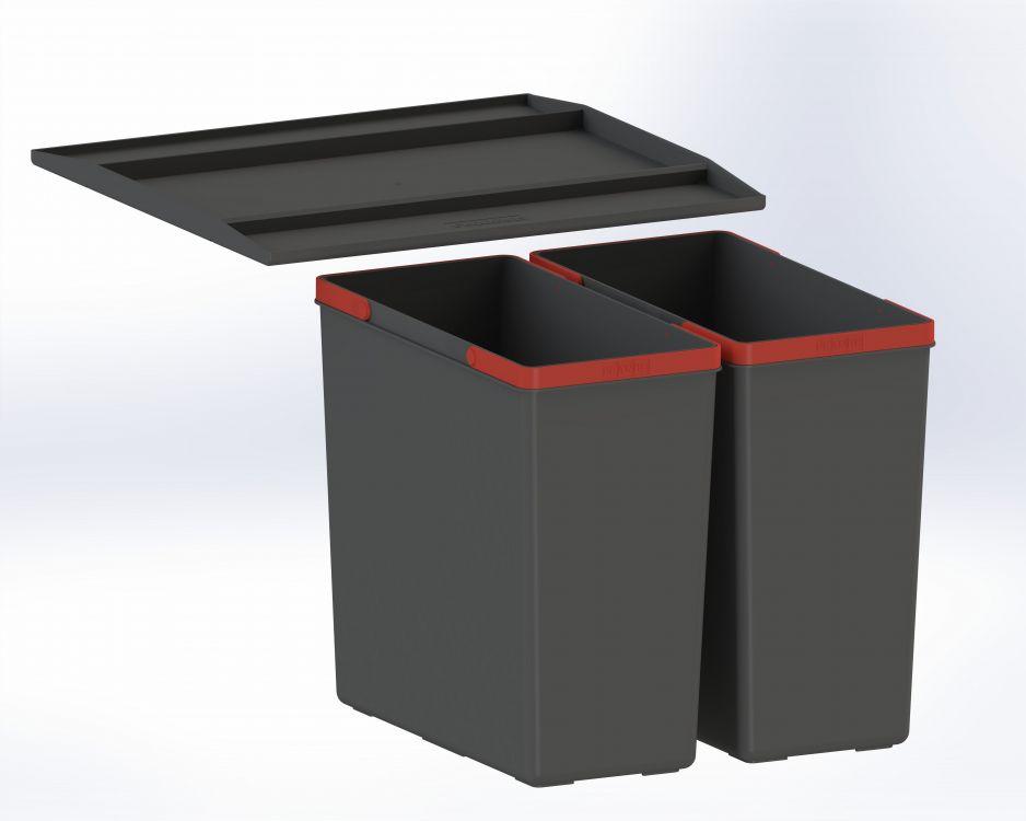 Zdjęcie Sortownik odpadów z półką Franke Easysort 450-2-0