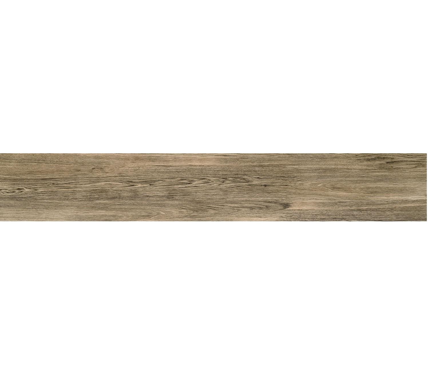 Płytka podłogowa Tubądzin Terrane Brown POL 119,8x19cm tubTerBroPol119,8x19