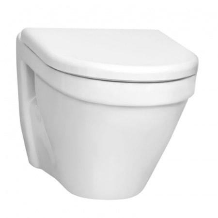 Miska WC Vitra Rim-EX S50 podwieszana bez kołnierza z deską wolnoopadającą 7740B003-0075 + 72-003-309