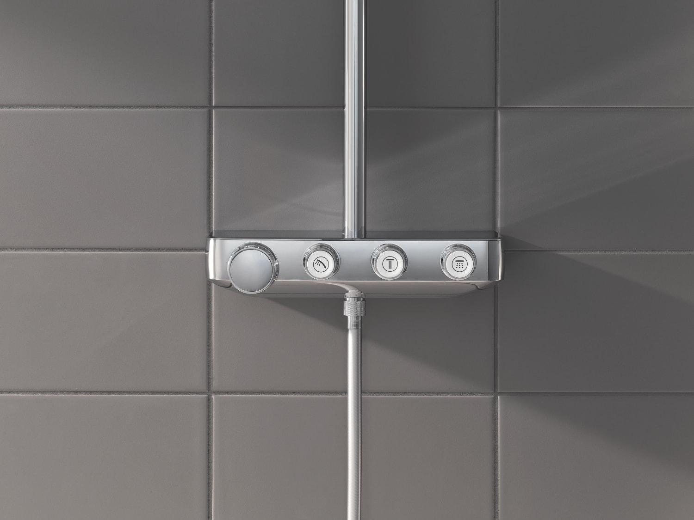 Zdjęcie GROHE Euphoria SmartControl 310 Cube Duo – termostatyczny system prysznicowy 26508000