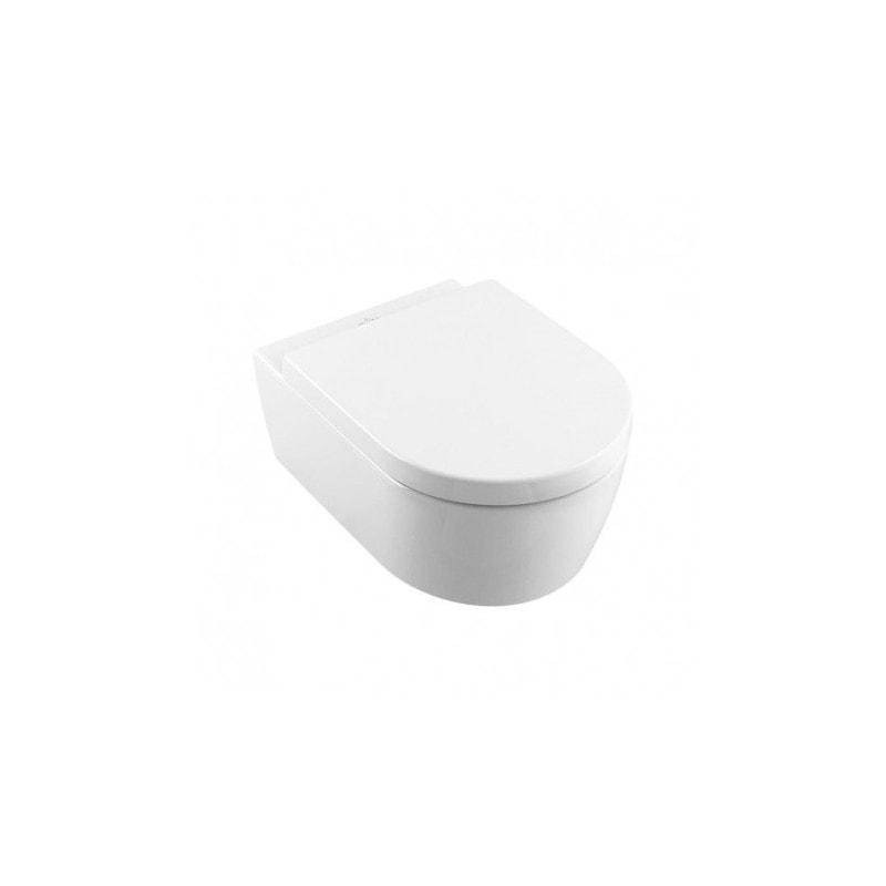 Miska WC wisząca Villeroy & Boch Avento 5656HR01 Combi-Pack Directflush + deska wolnoopadająca + uszczelka wygłuszająca GRATIS
