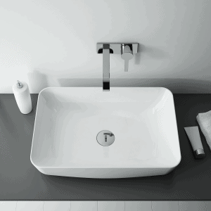 Umywalka nablatowa Elita NOMIA Blat Ceram Biała 50x39cm 145042