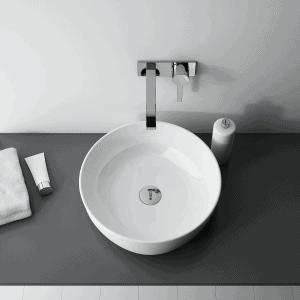 Umywalka nablatowa Elita LORKA Blat Ceram Biała 42x42cm 145048
