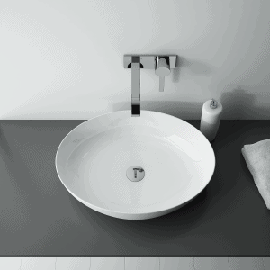 Umywalka nablatowa Elita RIKA Blat Ceram Biała 52x40cm 145056