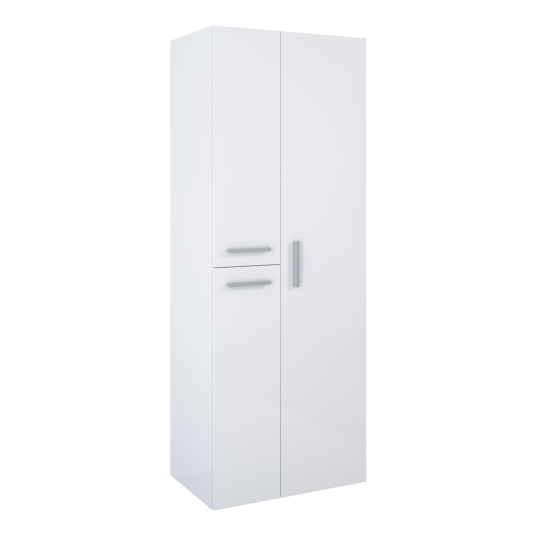 Słupek Elita Kwadro Plus 60 3D Biały 60x160x39,60cm 166720