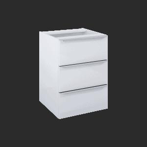 Komoda Elita Lofty 50 3S Biała 50x69,50x48,70cm 167030