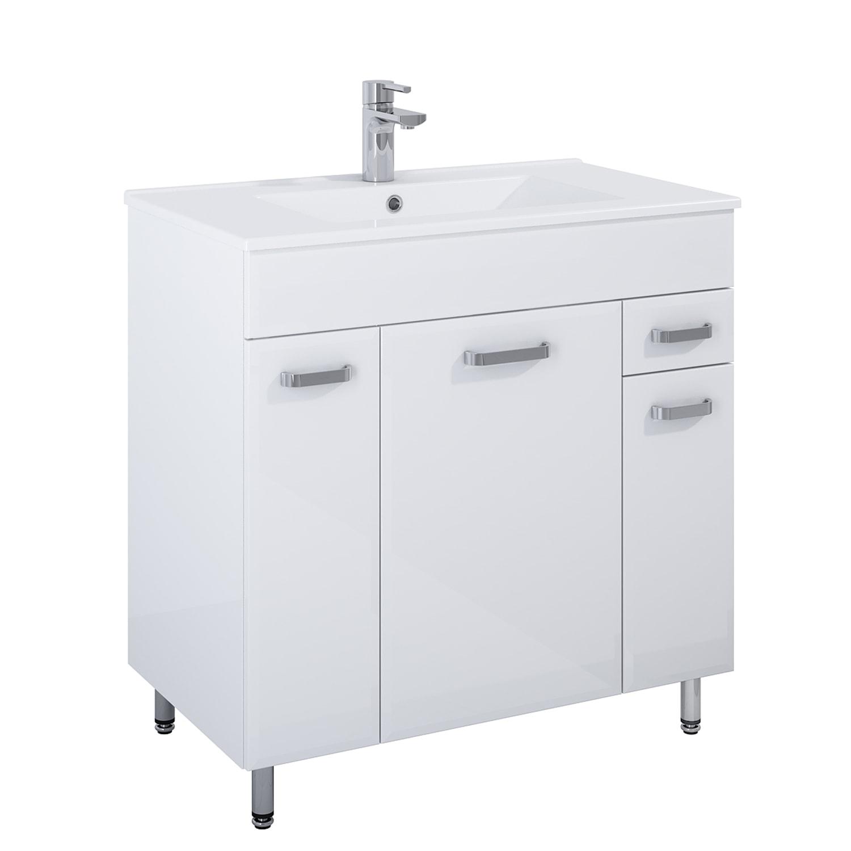 Komplet Elita Amigo Kyra 80 3D 1S Biały 80x80x45,60cm 167174