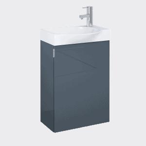 Set szafka podumywalkowa+umywalka Elita RAVELL 45 1D Antracyt HG 44x60x24cm 166240