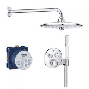 GROHE Grohtherm SmartControl Podtynkowy zestaw prysznicowy 34744000