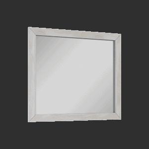 Lustro Elita Santos Oak 80 Biały WASH 80/70cm 166395