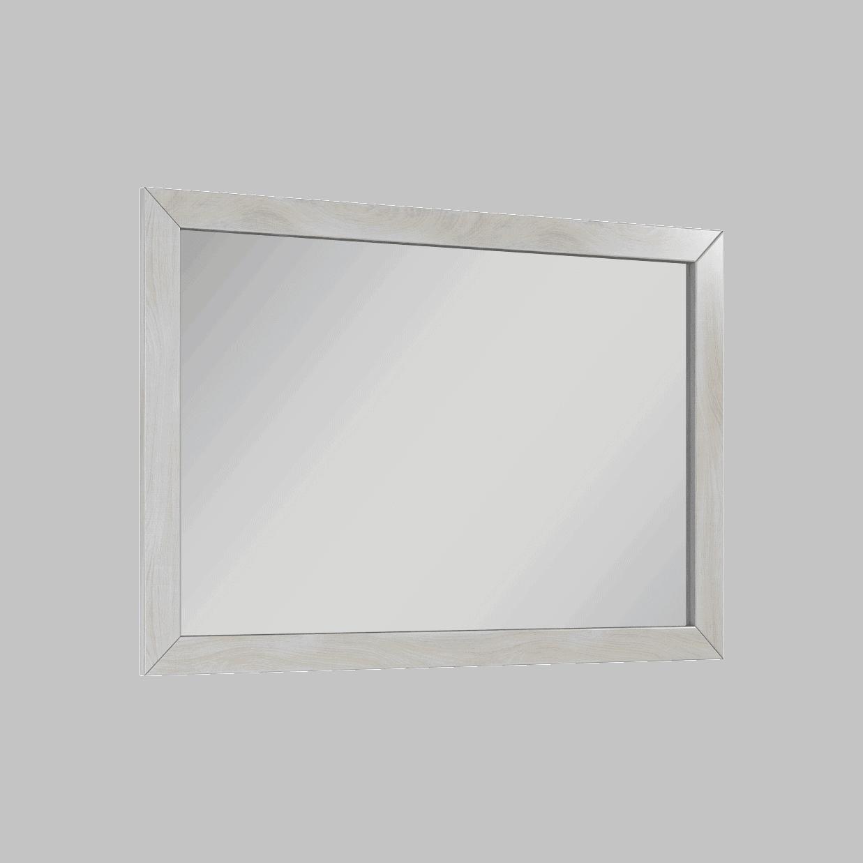 Lustro Elita Santos Oak 100 Biały WASH 100/70cm 166398