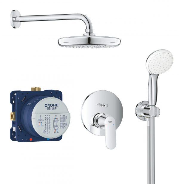 Zdjęcie GROHE Eurosmart Cosmopolitan – podtynkowy system prysznicowy 25219001