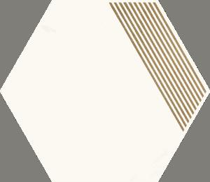 Hexagon B Paradyż Calacatta Mat 17,1x19,8cm