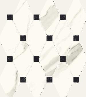Mozaika Paradyż Calacatta Poler 23,6x25,2cm