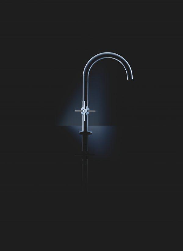 Zdjęcie GROHE Atrio – 2-uchwytowa bateria umywalkowa chrom 21019003