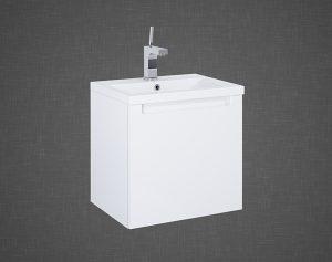 Set szafka podumywalkowa+umywalka Elita SERENITY 50 1S Biała 50x47x38cm 165849