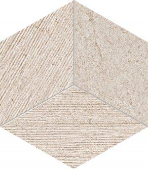 Mozaika Tubądzin Balance Grey STR 226x198mm