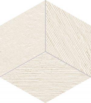 Mozaika Tubądzin Balance Ivory STR 226x198mm