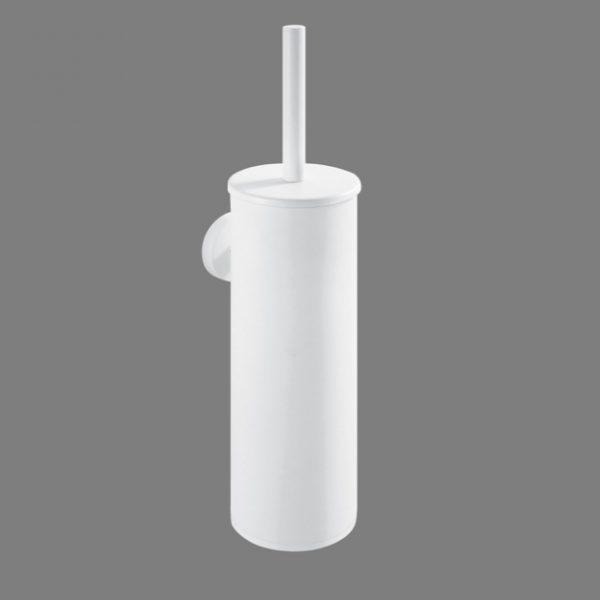 Zdjęcie Szczotka WC wysoka wisząca Stella Classic metalowy pojemnik, wkład z tworzywa Classic biała 07.435-W
