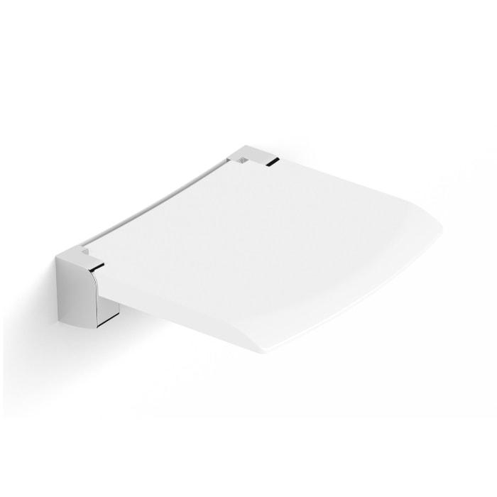 Siedzisko prysznicowe składane Stella białe 28.001 _