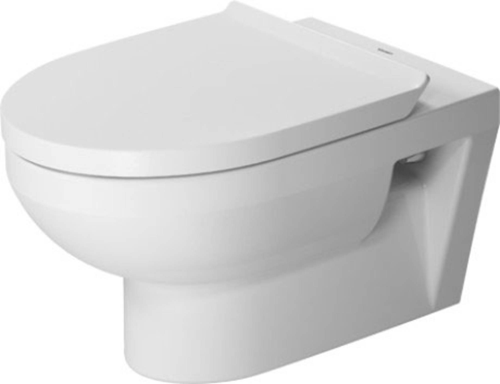 Miska WC Duravit DuraStyle Basic wisząca Rimless z deską wolnoopadającą biały alpin 45620900A1