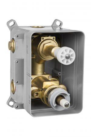Deante Box BOX podtynkowy termostatyczny z przełącznikiem natrysku BXXX44T