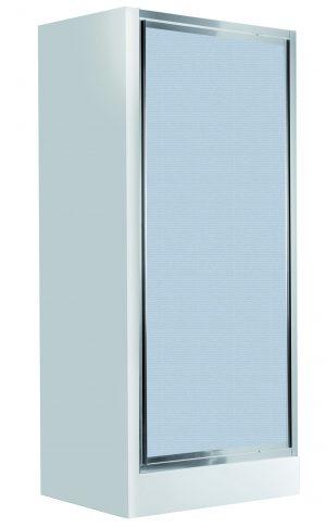 Deante Flex Drzwi wnękowe uchylne 80 cm, szkło szronione KTL_612D