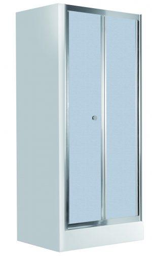 Deante Flex Drzwi wnękowe składane 90 cm, szkło szronione KTL_621D