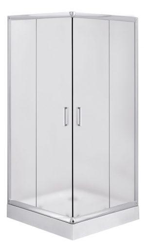 Deante Funkia Kabina kwadratowa 90 cm, szkło szronione KYC_641K