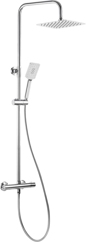 Deante Alpinia Deszczownia z baterią termostatyczną NAC01LT