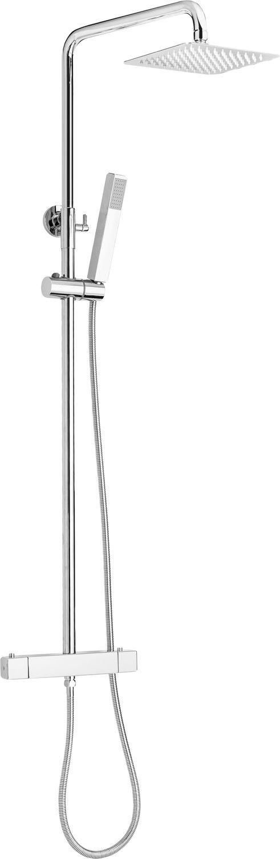 Deante Begonia Deszczownia z baterią termostatyczną NAC01BT