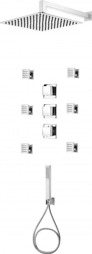 Deante Multi-System Komplet podtynkowy NAC090T