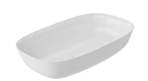 Umywalka nablatowa Marmite Noa z konglomeratu 60x36 cm NOA0007
