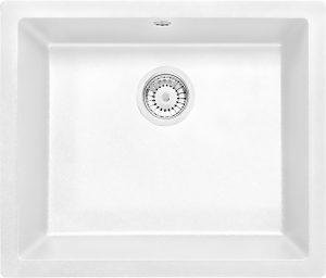 Deante Corda Flush Zlewozmywak 1-komorowy bez ociekacza - alabaster ZQAA10F