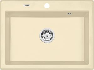 Deante Eridan Zlewozmywak granitowy 1-komorowy bez ociekacza - szampan ZQE1103