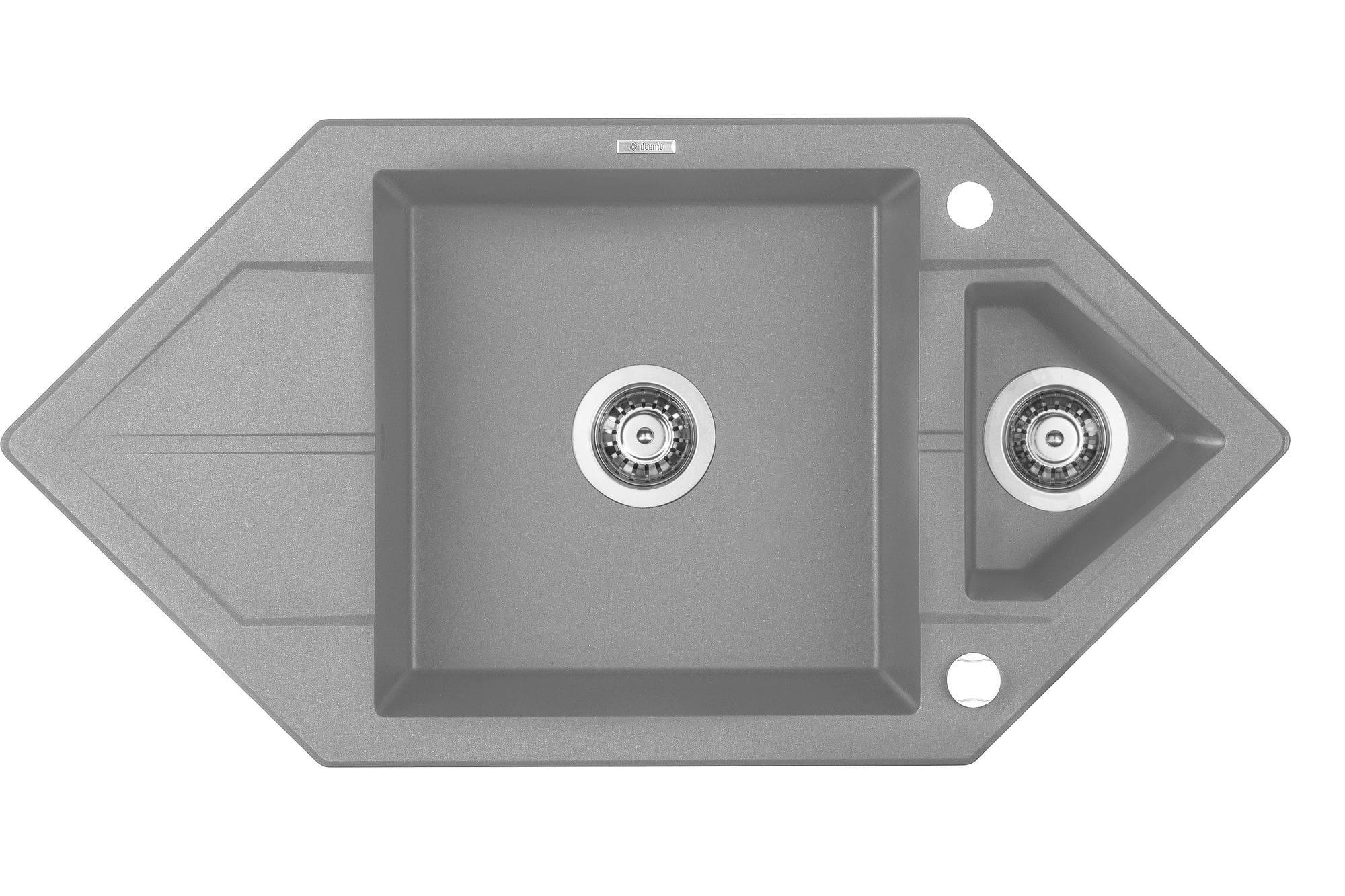 Deante Hexon Zlewozmywak 1,5-komorowy z ociekaczem ZQPS653