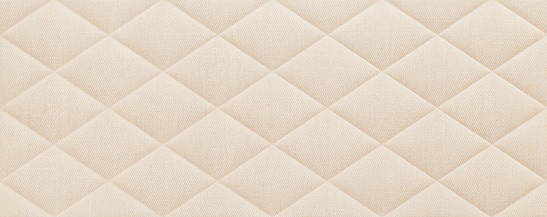 Płytka ścienna Tubądzin Chenille pillow beige STR 29,8x74,8 cm